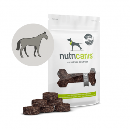 Dog Snacks Horse Jerky Discs (120g) - anallergenic