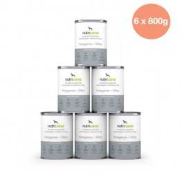 Hypoallergenic wet dog food: 6 x 800g Kangaroo & Okra